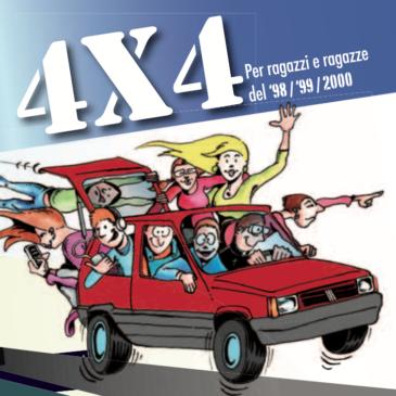 Incontri 4X4: per ragazzi e ragazze dalla terza alla quinta superiore